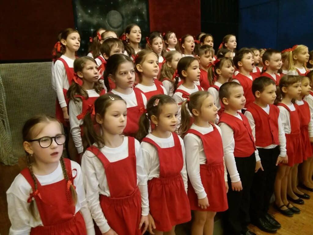 děti zpívají