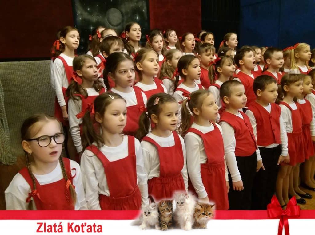 pěvecký sbor Koťata zpívá