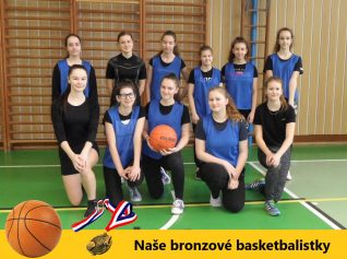 plakát Stříbrné basketbalistky