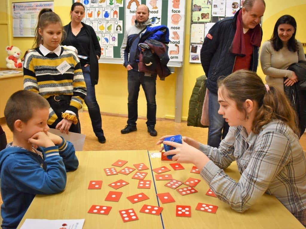 děti a karty