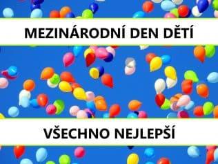 balónky den dětí