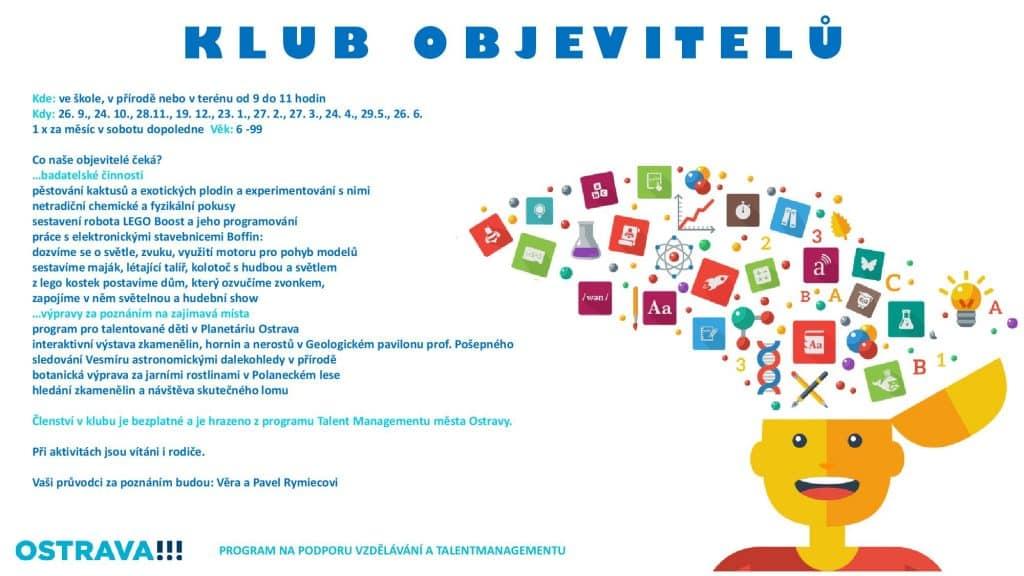 plakát klub objevitelů