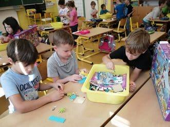děti a Lego