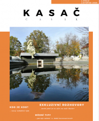 Titulní strana časopisu Kasač